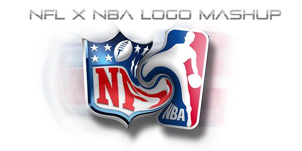 Nfl X Nba Logo Mashup On Behance