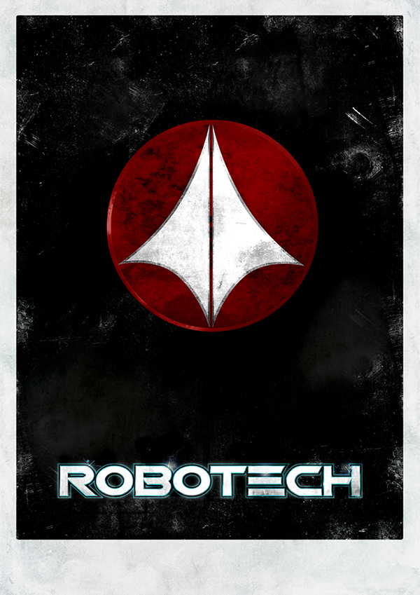 Robotech minimal posters on behance for Minimal art venezuela