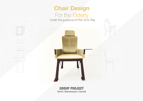 ergonomic chair design for elderly on behance