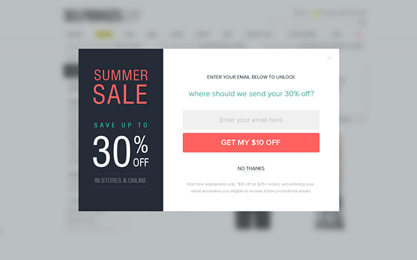 popup modal window designs on behancesign up to join the conversation