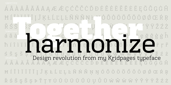 Typeface type font slab serif Ekaluck Peanpanawate Cadson Demak Thai Thailand