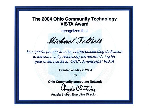 digital video manager Americorps Ohio Community Computing network