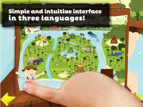 Amazonas  ipad  ipad app  app interactive  multimedia  game   children  book  digital  paint