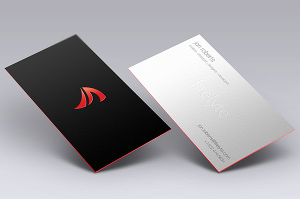 Business card mockup on behance reheart Choice Image