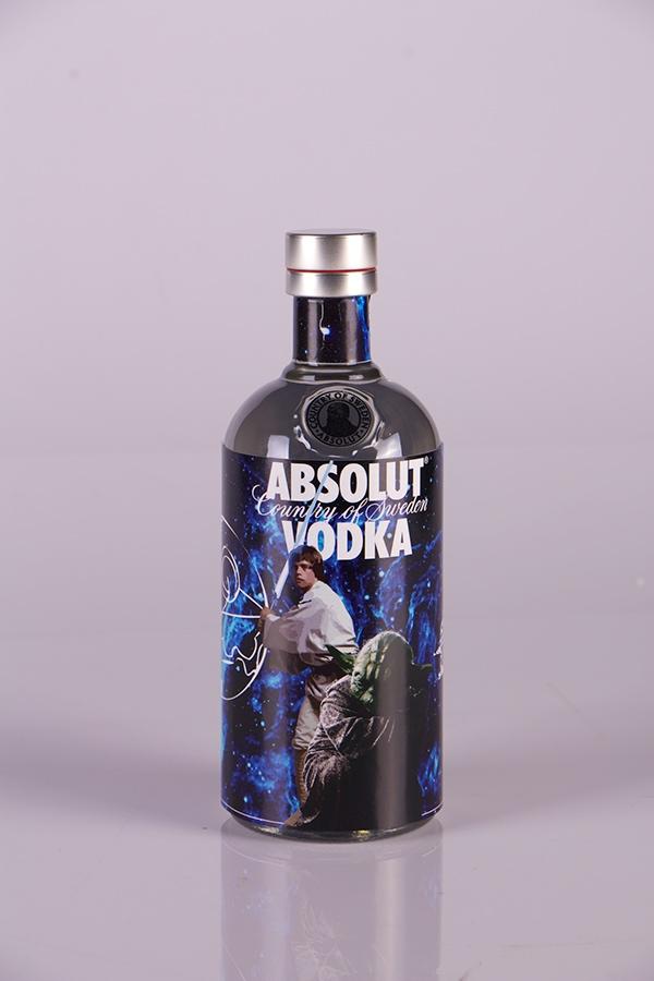 absolut vodka star wars edition on behance