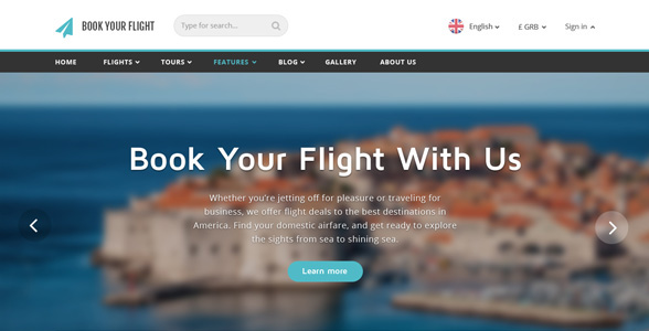 online airline booking websites