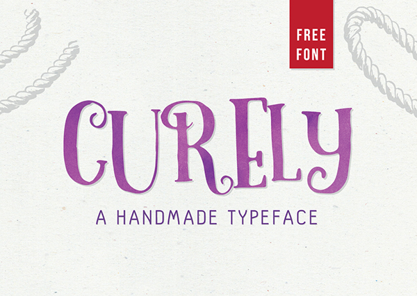Curely Is A Handmade Decorative Typeface Inspired From Girly Stuffs And Cuteness Overload In Every Single Letters On It Fit For Your Cute Sweet