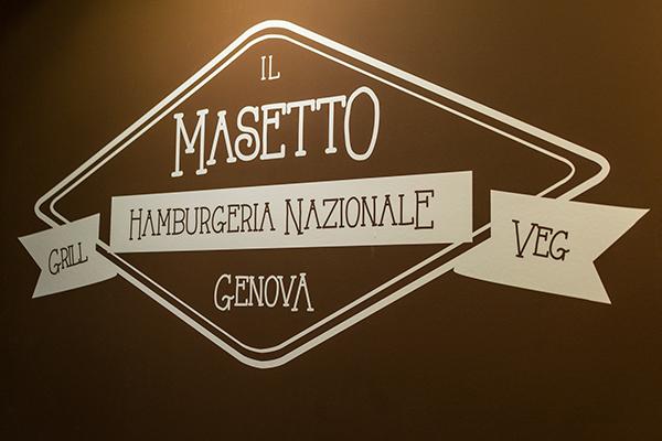 restaurant masetto genova graphic Interior design hamburger house wood identity italia beer Bistrot streetfood craft
