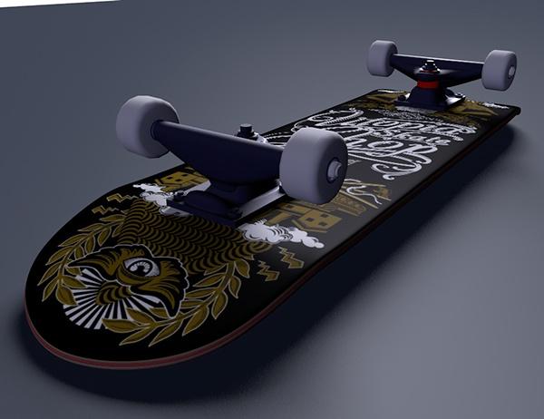 Utopia Skate Shop Skateboard Graphic On Behance