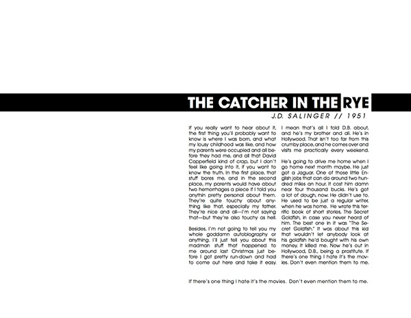catcher in the rye rhetorical analysis Rhetorical analysis essay: the basics - duration: the catcher in the rye symbol 2 -- the catcher in the rye from 60second recap.