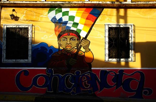 venezuela Street Murals Landscape mérida