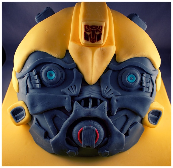 Pleasant Transformers Bumblebee Birthday Cake On Behance Personalised Birthday Cards Paralily Jamesorg