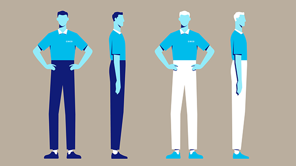 Character Design Application : Cisco grants application animation on sva portfolios