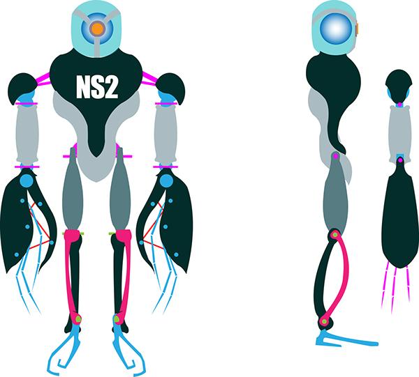 Robot NS-2 on Behance