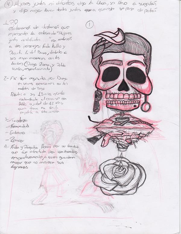 Frida-Paquita by Luis Gerardo Barba Rodriguez