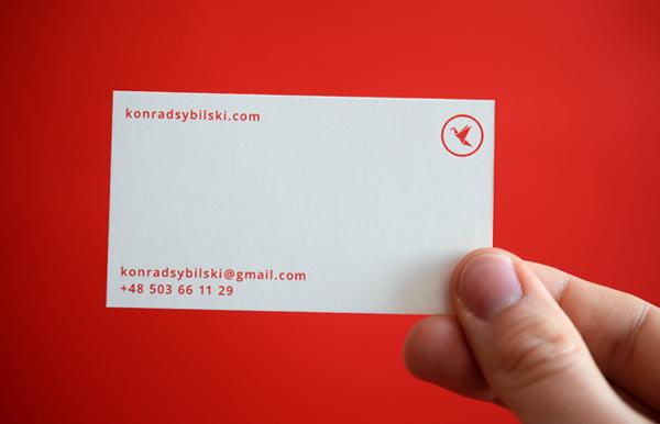 red  Stationary  portfolio  hello bussiness card clip editorial jacket punk rock english silkscreen krukbook Konrad Sybilski sketch adventure