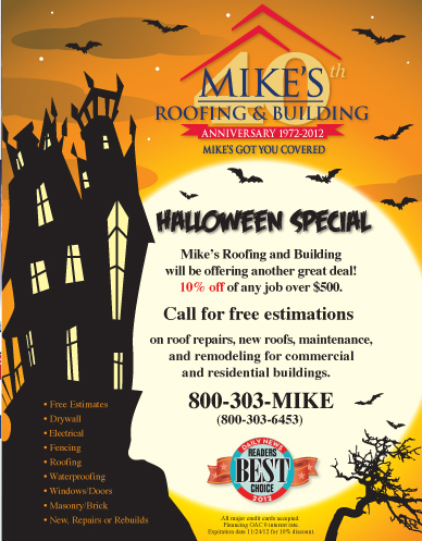 Mikes Roofing & Building on Behance