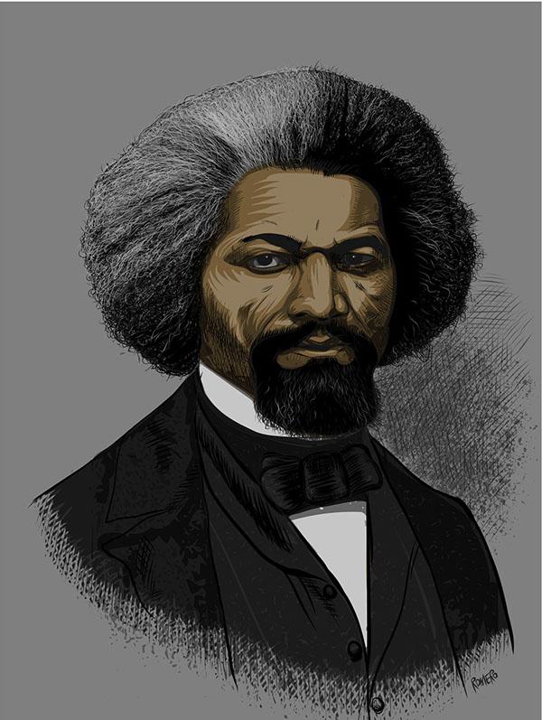 Frederick Douglass On Behance