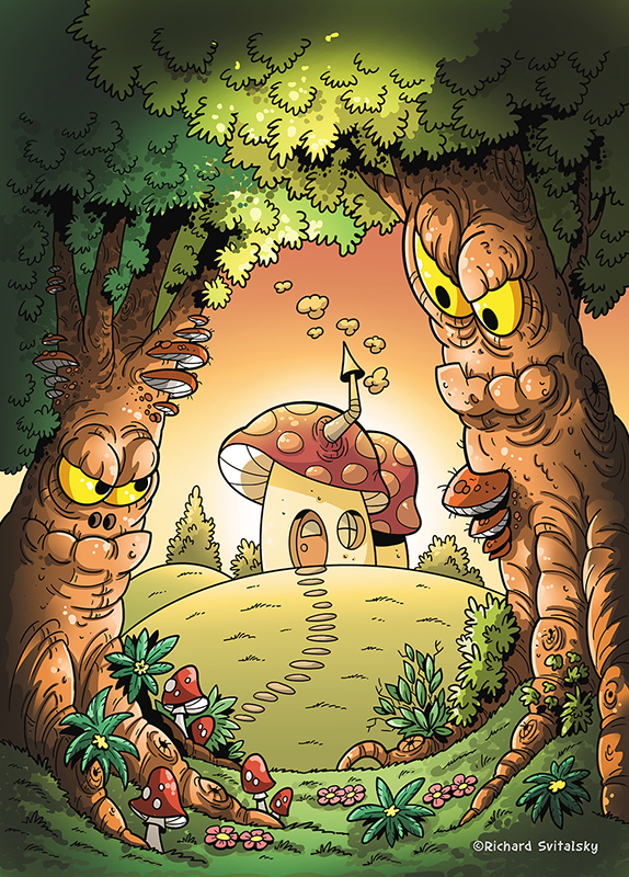 fairy tale ILLUSTRATION  book kid chidlren art ilustrace kniha pohadka