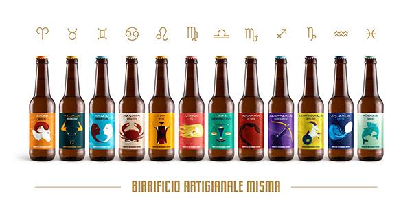 ⭐🍺 MISMA Zodiac beer labels