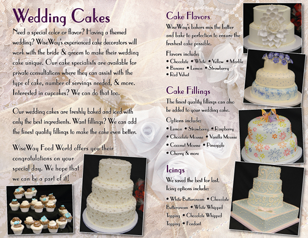 wedding cake brochure ideas wedding cake brochure on behance 22104