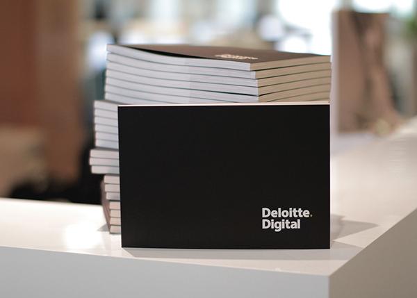 deloitte digital portfolio book on behance