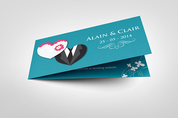 Wedding invitation card v6 on behance wedding invitation card v6 it is a professional and clean indesign invitation card template that can be used for wedding and events cards stopboris Gallery