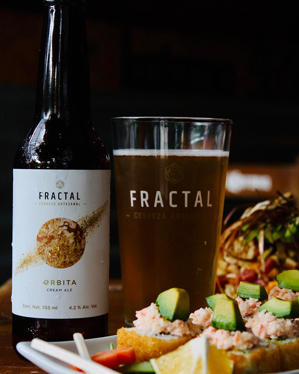Branding Cervecería Fractal