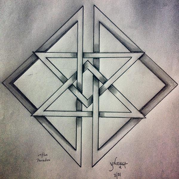 Geometric Drawings On Behance