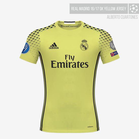 wholesale dealer 979f7 384ac Real Madrid 16/17 Kits on Behance
