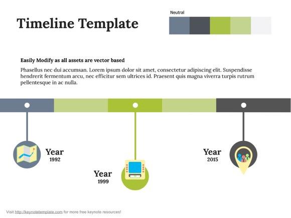 free apple Keynote download timeline free keynote template mac presentation