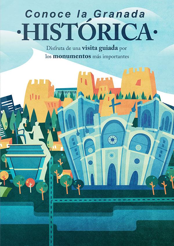 Vectorial city posters av Bea Castillo