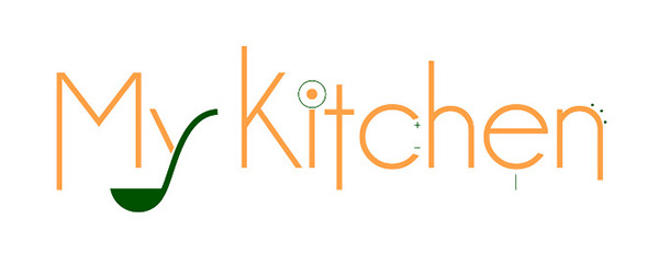 Logo design my kitchen on behance for Kitchen decoration logo