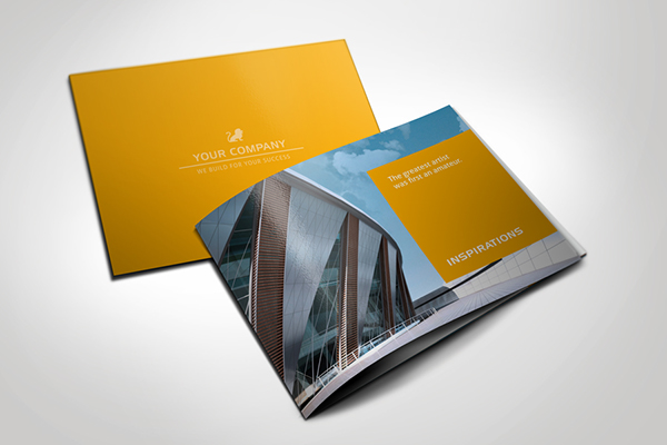 Modern Brochure Square On Behance