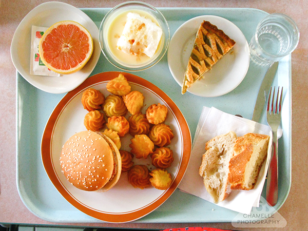 French school cafeteria food on behance for French cuisine 3 modules