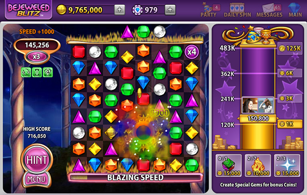 bejeweled blitz facebook app for ipad