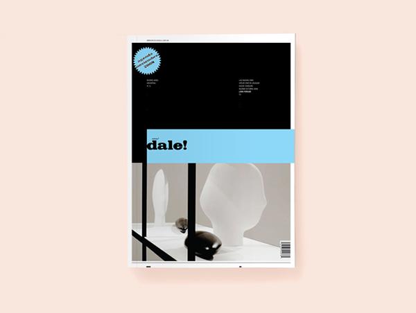 magazine editorial dale revista fasiculo tapa contenido print book copyright cover Layout InDesign mag