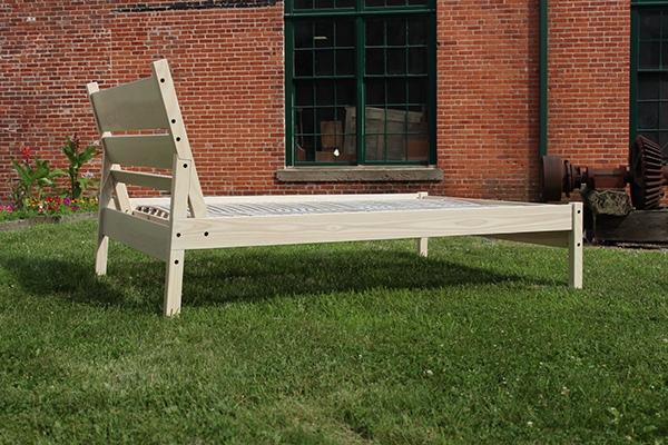 Timber Framed Bed On Risd Portfolios