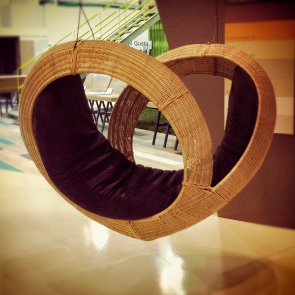 Love  heart  new  wicker  lounge  Mexico  Beach  swing  nest  steel  frame iconic exclusive