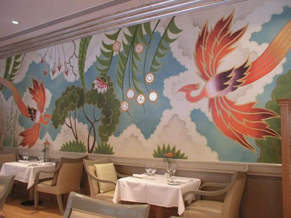 Westin hotel art deco mural on behance - Deco tableau mural ...