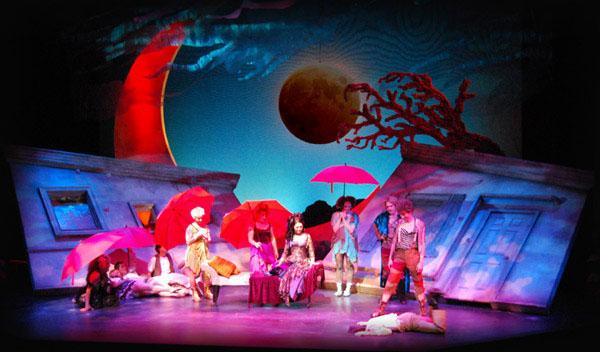A Midsummer Nights Dream Set Design On Behance