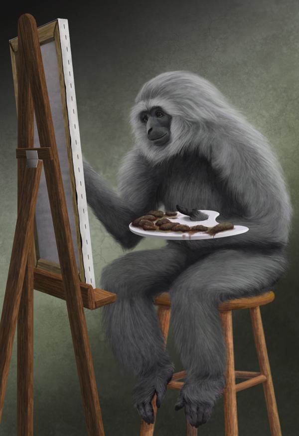 Gibbon Painter