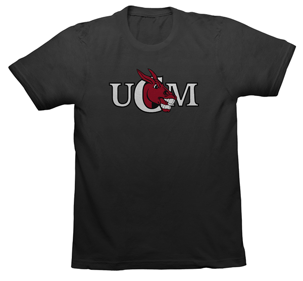Ucm mule mascot t shirt designs on behance for T shirt printing missouri city tx