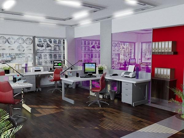 graphic design office decoration on behance