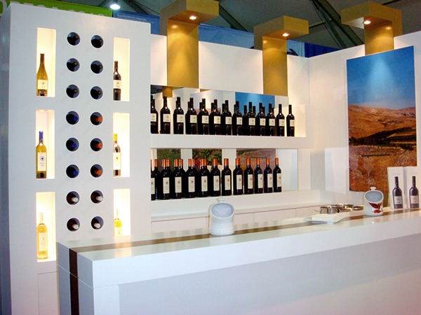 Exhibition Stand Bar : Ixsir exhibition stand on behance