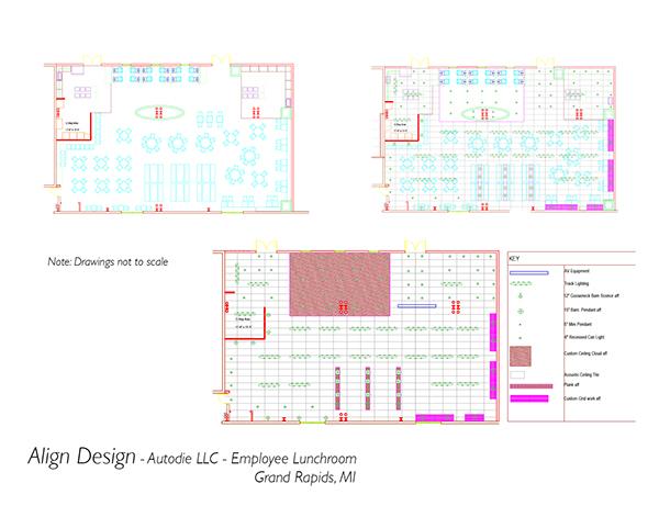 Autodie LLC, Grand Rapids, MI - Lunchroom project on Behance
