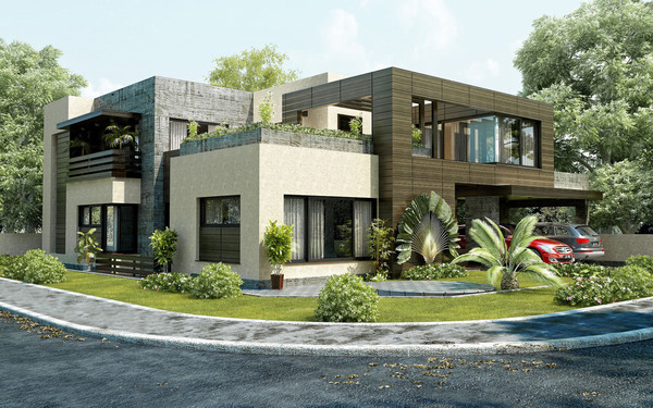 Mr. Shafique's Residence Exterior On Behance