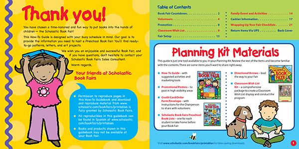 Scholastic Book Fairs Marketing Materials On Aiga Member Gallery