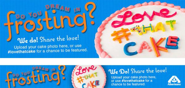 cake bakery food design food type Cake Decoration ad campaign digital campaign