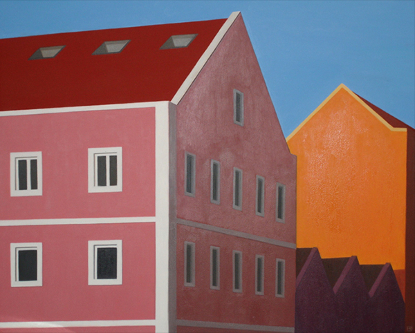 carmen maura pintora painter arquitectura oil